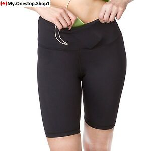 Sport-it Active Long Shorts  Women's Workout Bike Running with Pockets...