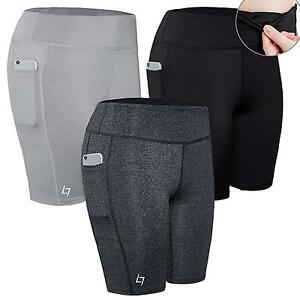FITTIN Women's Sports Shorts Activewear for Active Fitness Pocket Yoga...
