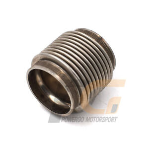 Universal Stainless Steel Exhaust Flex Pipe 1.75