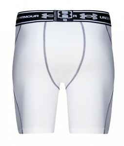 (White XX-Large) - Men's Heatgear Ventilated Compression Shorts. Under Armour