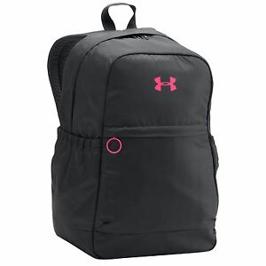 Under Armour Favourite Backpack BlackPink Sports Bag Gymbag Rucksack