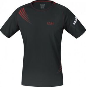 (Small Black) - Gore Running Wear Magnitude 2.0 Men's Shirt. Best Price