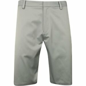Ashworth Synthetic Stretch Medium Grey Shorts Men