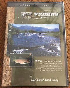 Fly Fishing: The Lifetime Sport DVD 2005 and Book By David and Cheryl Young