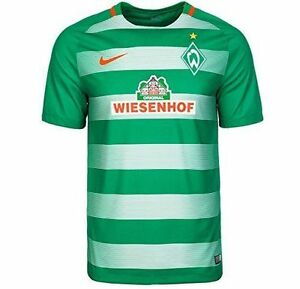 NIKE WERDER BREMEN 2016-2017 SS DRI-FIT KIDS BOYS HOME STADIUM SHIRT XL 13-15 YR