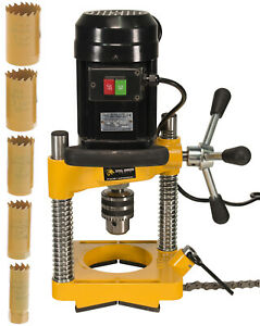 Steel Dragon Tools® JK114 Pipe Hole Cutter with 6 Piece Cutter Set up to 1-14