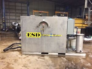 ESD Waste 2 Water Biological Wash Water Recyling System- Water treatment system