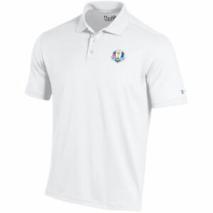 Under Armour White 2018 Ryder Cup Performance Polo - Golf