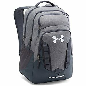 "Under Armour Storm Recruit Backpack 15"" Laptop Bag Safe Abrasion Water Resistant"