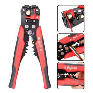 Self Adjusting Insulation Wire Stripper Cutter Crimper Cable Stripping Tools 8