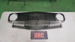1969 Ford Mustang Dark Horse (DHC) Aluminum Billet Grill Insert upperlower SET