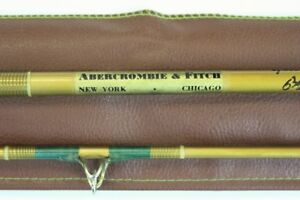 Abercrombie & Fitch Yellowstone Spinning Rod w Cork Handle
