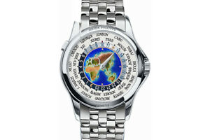 Patek Philippe World Time 51311P-001 Platinum on Bracelet