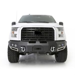 Smittybilt M-1 FRONT D-Ring Bumper w Lights 612833 black 15-2017 FOR Ford F-150