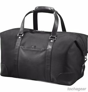 NEW! Cutter & Buck Ballistic and Leather Weekender 19