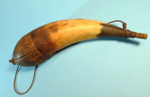 Powder Horn Authenticated mid 1700s Bedford Cnty Penn Native American 1014