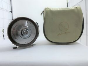 Ted Williams 470 Automatic Fly Reel Antique Vintage Very Old NICE!