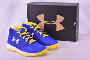Boy's Under Armour 1296010400 Jet 2017 Basketball Shoes Team Royal