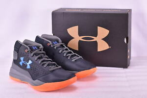 Boy's Under Armour 1296009040 Jet 2017 Basketball Shoes Graphite