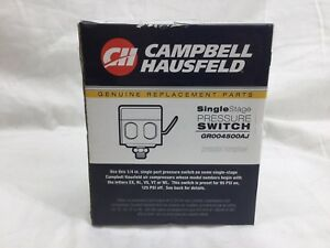 Campbell Hausfeld Single Stage Pressure Switch (GR004500AJ) *NEW
