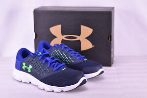Boy's Under Armour 1285434410 Micro G Rave Sneakers Midnight navy