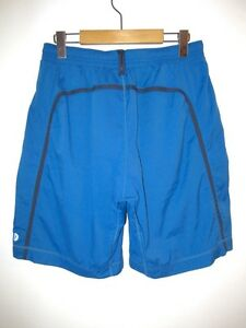 EUC Rare Lululemon Mens Run Pace Breaker Short M Zip Pocket Built-in Liner Pants
