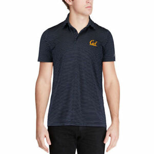 Under Armour Cal Bears Navy Playoff Stripe Polo - College