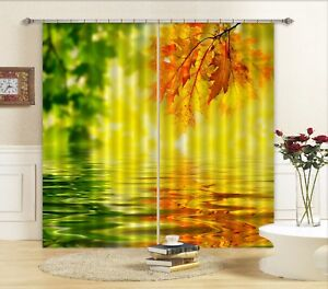 3D Nature Color 6 Blockout Photo Curtain Curtains Drapes Fabric Window CA Summer
