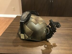 Special Forces MSA MICH KEVLAR ACH TACTICAL HELMET MEDIUM WITH EXTRAS