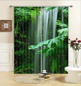 3D Tropical Forest 42 Blockout Photo Curtain Curtains Drapes Fabric Window CA