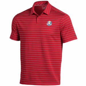 Under Armour Red 2018 Ryder Cup Coolswitch Putting Stripe Polo - Golf