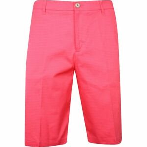 Ashworth Mini Check Pink Jasper Shorts Men