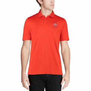 Under Armour Auburn Tigers Orange Solid Performance Polo - College