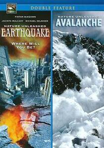 Nature Unleashed: EarthquakeAvalanche DVD Potts Andrew Lee Croasdell Adam