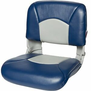 Tempress All Weather High Back Gray Seat/Blue/Gray Cushion