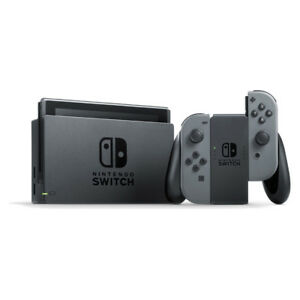 Nintendo Switch - 32GB Gray Console (with Gray Joy-Con) Very Good Condition