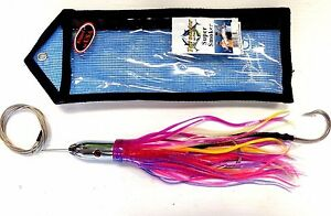 Tormenter SUPER SMOKER Trolling Lure Rigged w Cable & Hook in Bag BERRY SUNDAE