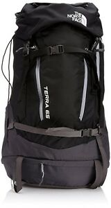 (LargeX-Large TNF BlackMonument Grey) - The North Face Terra 65 Backpack