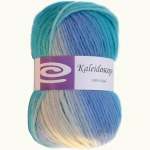 ELEGANT YARNS Kaleidoscope Yarn, Ocean Breeze