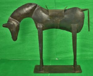 Pair of French Bronze Horses $1400.00