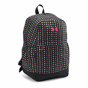 Under Armour Girls' Favorite Backpack BlackHarmony Red One Size 100% Polyester