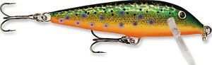 (Brook Trout) - Rapala Countdown 90ml Fishing Lures. Shipping Included