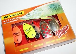 (Pike Pack) - Mepps Spinner Kits**Trout**Pike**Perch Lure Packs Selections
