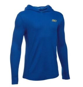 New Under Armour Boy's Coldgear SC30 Essential Pullover Hoodie $24.99