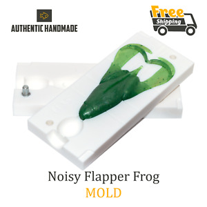 🔥 Bait Mold Keitech Noisy Flapper Frog Lure Toad Soft Plastic 90 mm