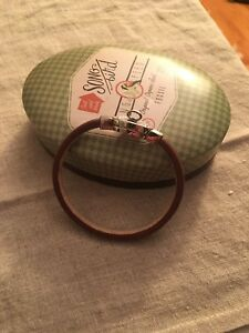 Fossil Jewellery Women's Bracelet Leather Silver With Diamond Metal Buckle