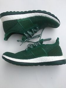 Adidas Men Green Pure Boost Size 7.5 And Adidas Large Shirt Combo NWT