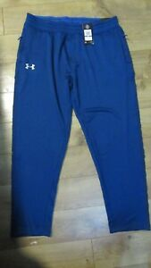 New Mens Under Armour Pants Tech Terry Fleece Pants Loose Fit 1293939 2XL-tall