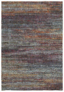 Multi-Color Contemporary Borderless Vibrant Kaleidoscope Area Rug Solid 8037B