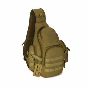 Outdoor Portable Military Hunting Hiking Camping Backpack Chest Bag Shoulder Bag